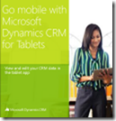 Go mobile with CRM for tablets