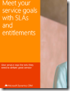 Meet your service goals with SLAs and entitlements