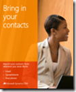 Dynamics CRM: Bring in your contacts