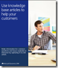 Use KB articles to help your customers
