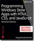 Programming Windows Store Apps with HTML, CSS, and JavaScript, Second Edition (Second Preview)