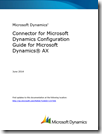 Connector for Microsoft Dynamics Configuration Guide for Microsoft Dynamics AX