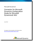 Connector for Microsoft Dynamics Configuration Guide for Microsoft Dynamics NAV