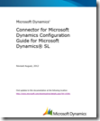Connector for Microsoft Dynamics Configuration Guide for Microsoft Dynamics SL