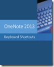 OneNote 2013 Keyboard Shortcuts