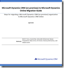 Microsoft Dynamics CRM (on-premises) to Microsoft Dynamics Online Migration Guide