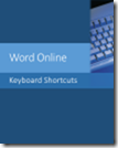 Word Online Keyboard Shortcuts