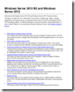 Windows Server 2012 R2 and Windows Server 2012 TechNet Library Documentation